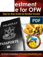 Investment Guide for OFW (Step by Step Guide for Newbie Investors)
