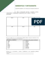 CLEN - Semántica y Ortografía