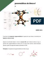A Quimica Dos Organomet Licos Do Bloco d
