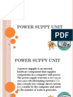 Power Suppy Unit