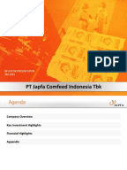 Japfa comfeed annual report 2009 calendar