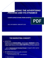 Understanding the Advertising Process and Its Dynamics