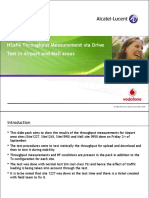 Airport and Mall HSPA Test