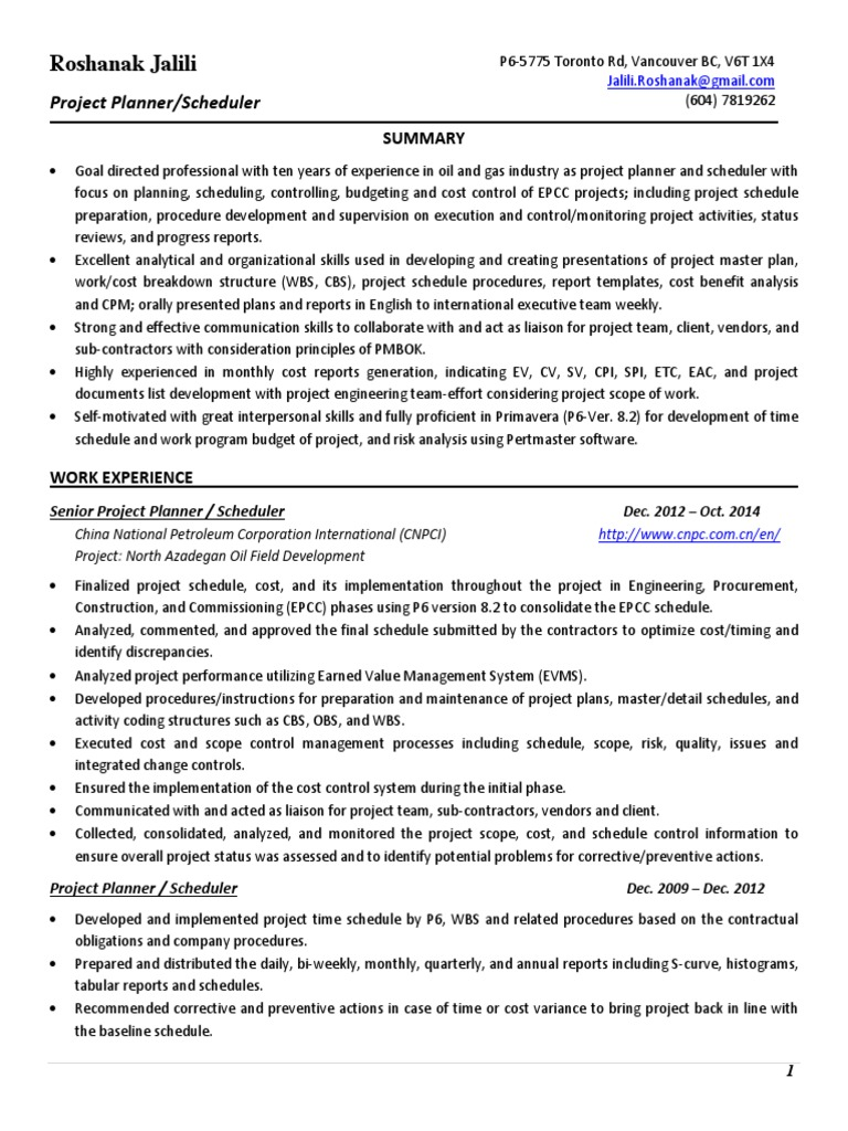 Sample CV 1hgfh.pdf | Business | Manufacturing And Engineering