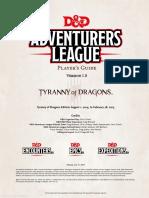 Adventure League Player Guide