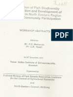 Integration of Fish Biodiversity Conservation and Development of Fisheries in North Eastern Region Through Community Participation