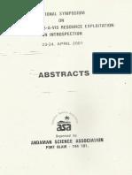 National Symposium on Biodiversity Vis-A-Vis Recource Exploitation