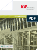 BW Industries Steel Framing Systems 2014