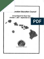 NHEC 2001-2002 Annual Report