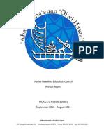 NHEC 2011-2012 Annual Report