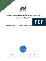 NHEC 2006-2007 Annual Report