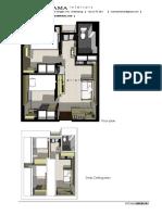 Interior Apartmen 2Br