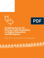 Journal- Enabling Access for Persons With Disabilities to Hi