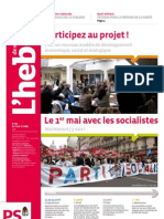 L'hebdo des socialistes n°566