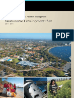 UWA Sustainable Development Plan 2011 2014 Public