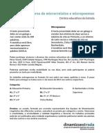 III concurso micropoemas e microrrelatos. dinamizaestrada 2016