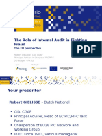 Topic 6 Role of Audit in Fighting Fraud