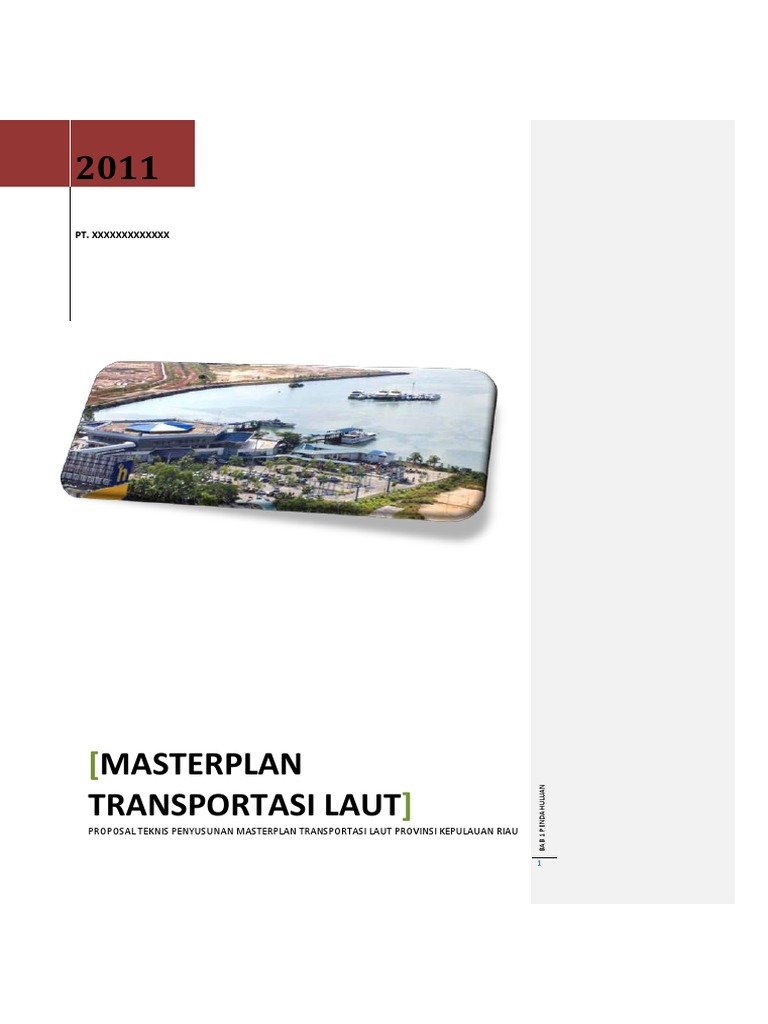 Documents Tips Ustek Master Plan Transportasi Laut Kepri Pdf