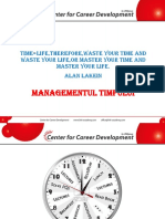 Time Management -Curs