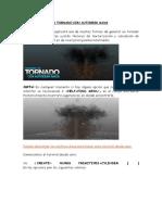 Tutorial. Crea Un Tornado Con Autodesk Maya