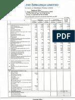 MFL Q3 FY2015 Financial Results