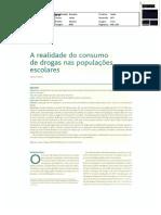 A Realidade Do Consumo de Drogas Nas Populações Escolares (Revista Portuguesa de Clínica Geral)