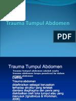 153535796 Trauma Tumpul Abdomen Ppt