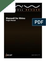 Maxwell for Rhino