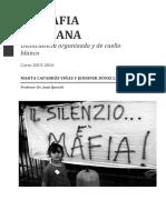 La Mafia Siciliana. La Cosa Nostra