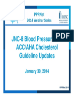 Lipid and Htn Guidelines