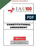 Constitutional Amendment[Www.qmaths.in]