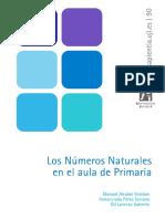 Los Numeros Naturales en El Aula de Primaria
