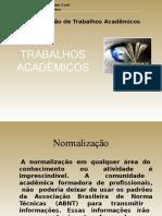 TRABALHOS ACADEMICOS