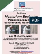 AJC St Germain - Invitation Conférence - 8 Février 2016