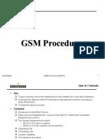 Gsm Procedure