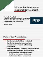 Curruculum and Teacher Training