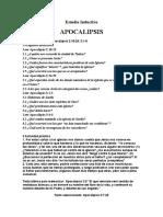 Estudio Inductivo Apocalipsis 3 - 4 Alumno