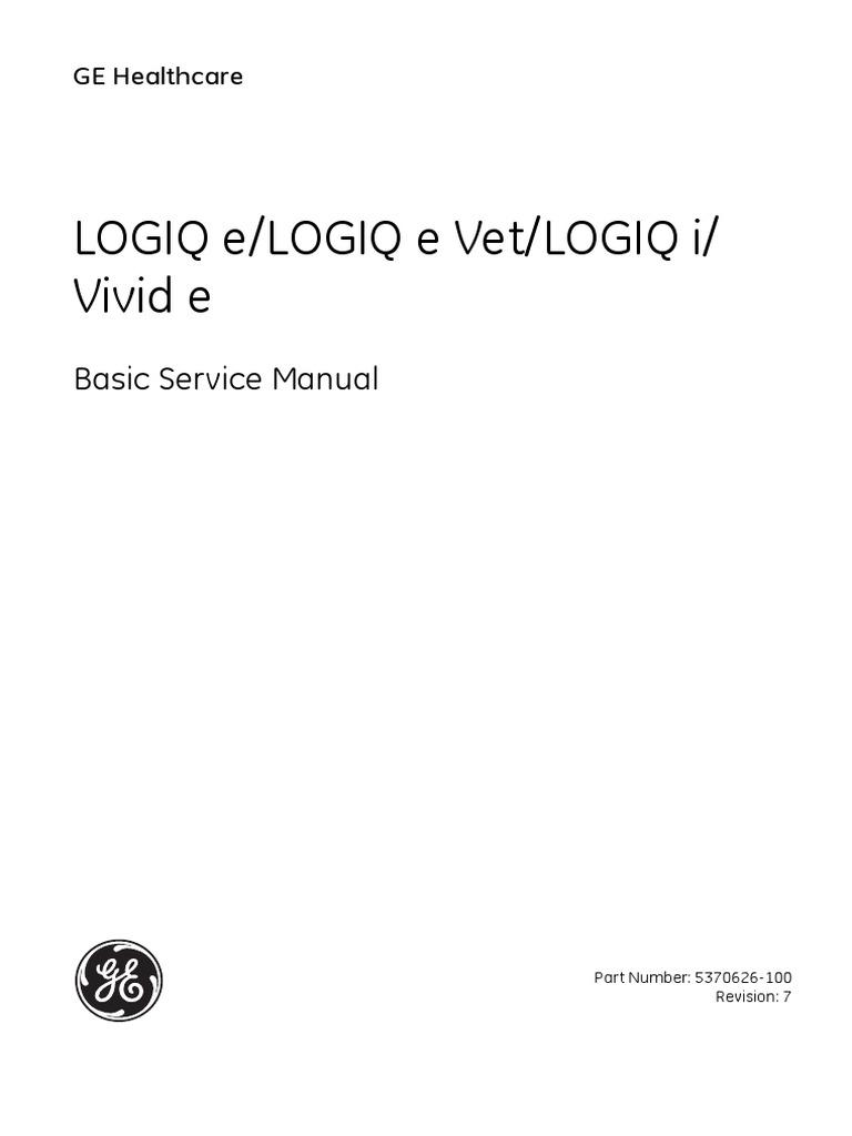 Logiq e Service Manual | Electromagnetic Compatibility | Electrostatic  Discharge