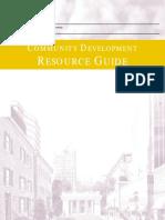 Community Development Resource Guide