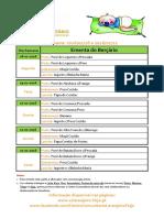 Ementa Berçário 18 a 22-01-2016