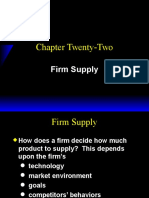 Ch22 Firm Supply