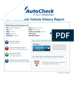 Chevrolet Camaro Record