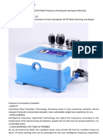 Unoisetion Cavitation 2.0 + 3d Rf Radio Frequency Quadrupole Sextupole Slimming