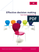 40 Effective Decision Making