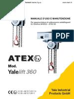 manuale Di Manutenzione Yale Atex