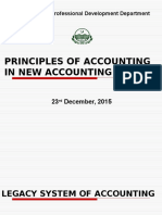 Principles of Accounting in New Accounting Model