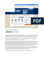 Creacion de Blog con Blogger Intranet