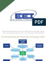 Financiamiento de Proyectos de Energia Solar Latinoamerica