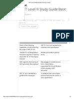 ASNT Level III Study Guide Basic Flashcards _ Quizlet