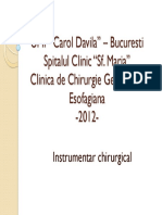Instrumentar chirurgical